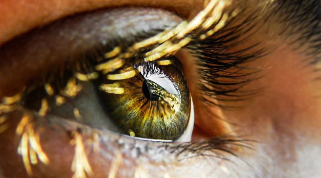 Close-up of eye | Sci-Fi