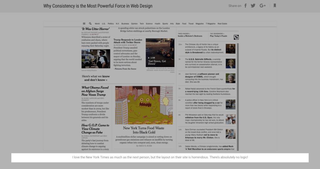 New York Times disorganization